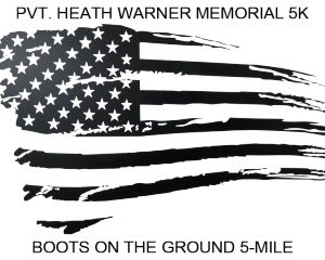 Pvt. Heath Warner 5K & Boots on the Ground 5-Mile logo