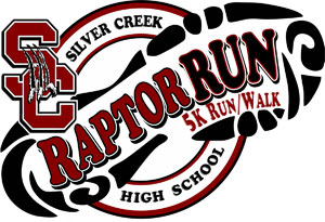 Raptor Run 5k logo