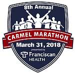 Carmel Marathon Weekend 2018 logo