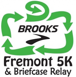 Brooks Fremont 5k & Briefcase Relay logo