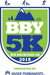 Big Backyard 5K presented by Kaiser Permanente logo