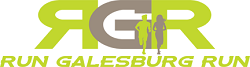 Run Galesburg Run - 2018 logo