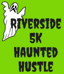 Riverside Haunted Hustle logo