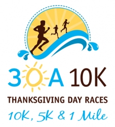 30A 10K Thanksgiving Day Races logo