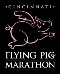 Flying Pig Marathon 2019 logo