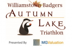 3rd Williamstown Badgers Autumn Lake Triathlon logo