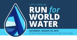 Run for World Water 5K logo