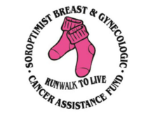 Pinksox Run/Walk To Live logo