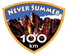 Never Summer 100k logo