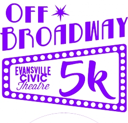Civic Theatre Off Broadway 5K logo