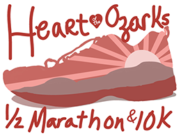 2020 Heart of the Ozarks Half Marathon & 10K logo