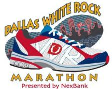 2008 Dallas White Rock Marathon logo