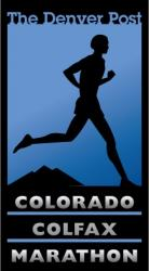 The Denver Post Colorado Colfax Marathon logo