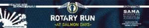 Rotary Run at Salmon Days logo