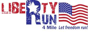 Liberty Run 4 Mile Run/Walk logo
