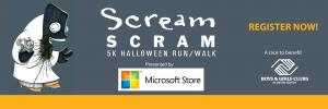 Scream Scram 5K logo