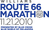 Williams Route 66 Marathon logo
