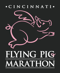 Flying Pig Marathon 2011 logo
