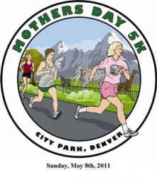 Mothers Day 5K - Denver logo
