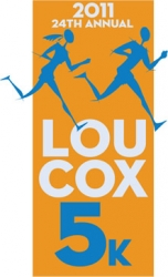24th Annual Lou Cox 5k logo