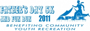 APEX Fathers Day 5K logo