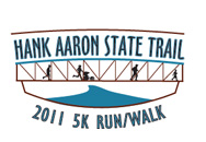Hank Aaron State Trail 5K Run/Walk 2011 logo