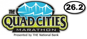 Quad Cities Marathon 2011 logo