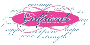 Girlfriends Half Marathon logo