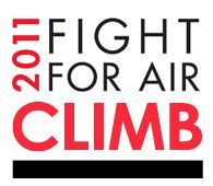 Fight for Air Climb logo