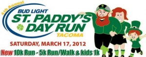 St. Paddys Day Run logo