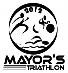 2012 Papillion Mayors Triathlon logo