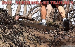 2013 Ni-Bthaska-Ke Trail Run�12K & 4 Mile logo