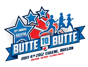 Aquafina Butte To Butte logo