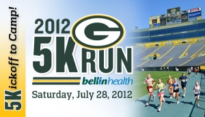 Packers 5K Run/Walk logo