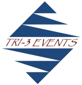 Tri-3 Events logo